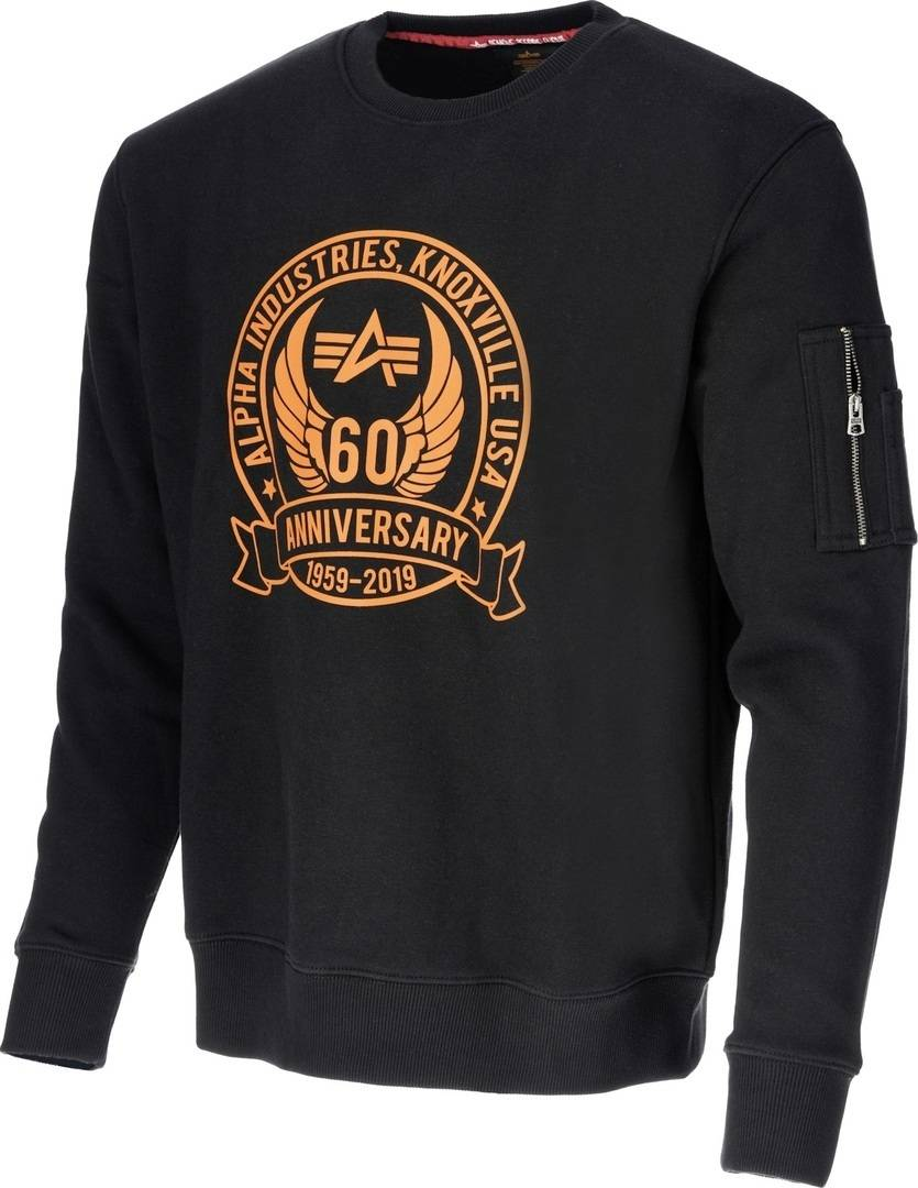 Alpha Industries Anniversary pull Noir taille : L