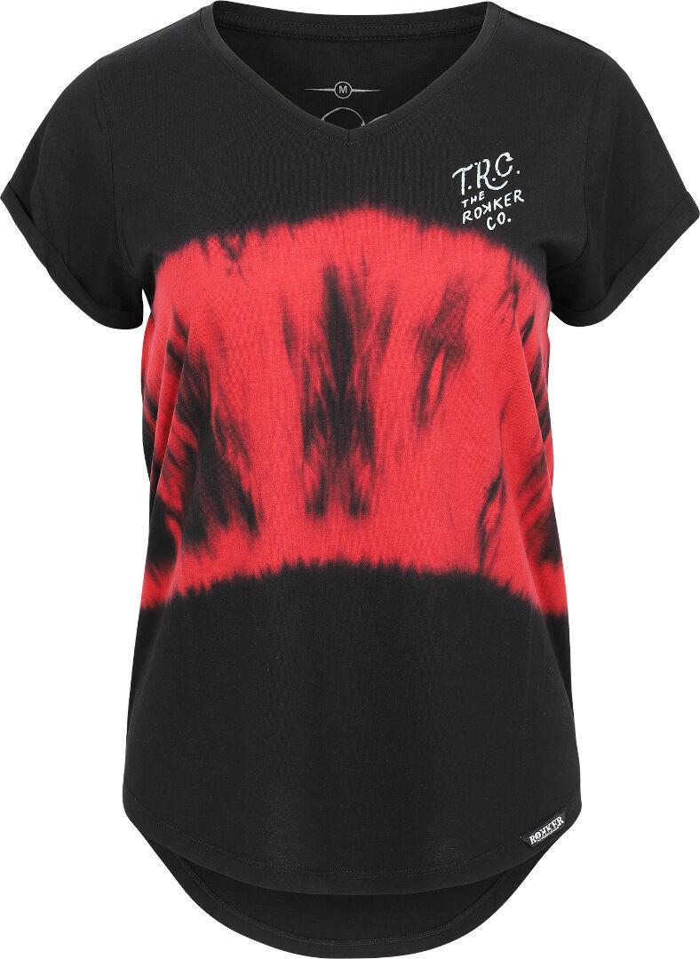 Rokker California Race Team T-shirt Dames Noir taille : XS