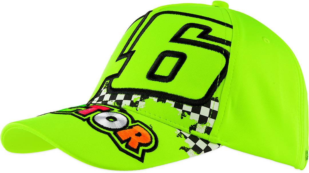 VR46 46 The Doctor Cap Jaune taille : unique taille