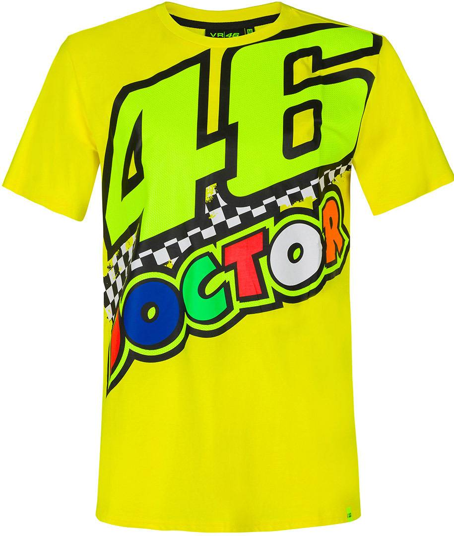 VR46 The Doctor 46 T-Shirt Jaune taille : 2XL