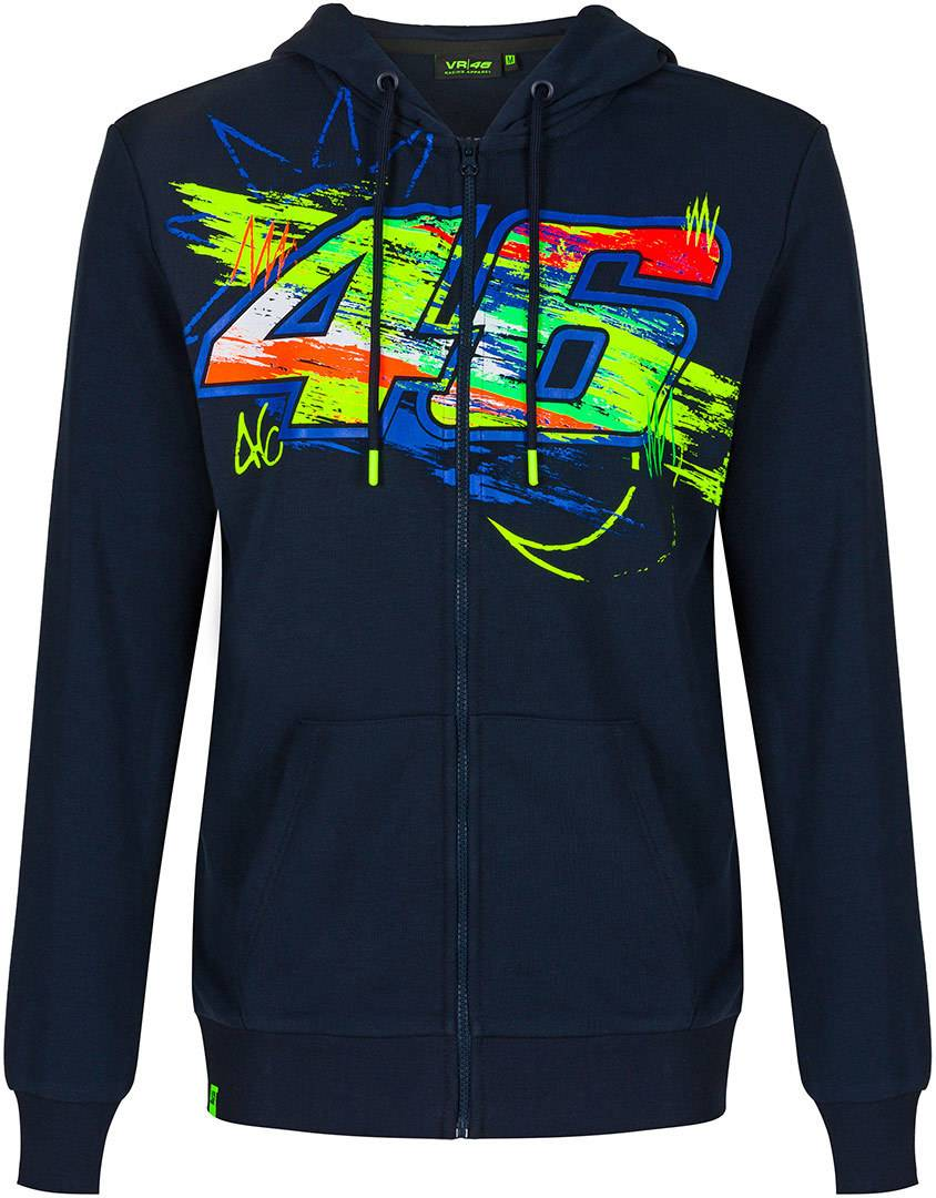 VR46 Winter Test Capuche Bleu taille : S