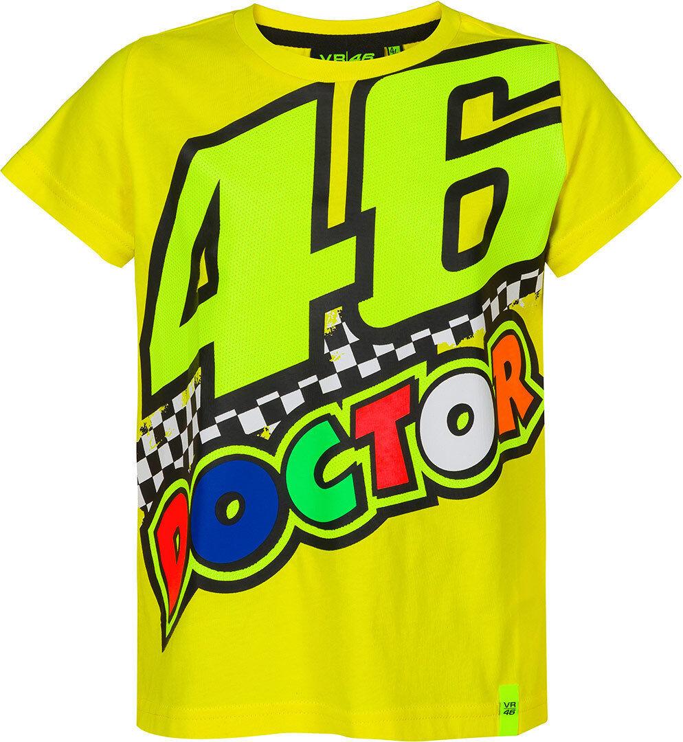 VR46 The Doctor 46 T-Shirt pour enfants Jaune taille : 4 - 5