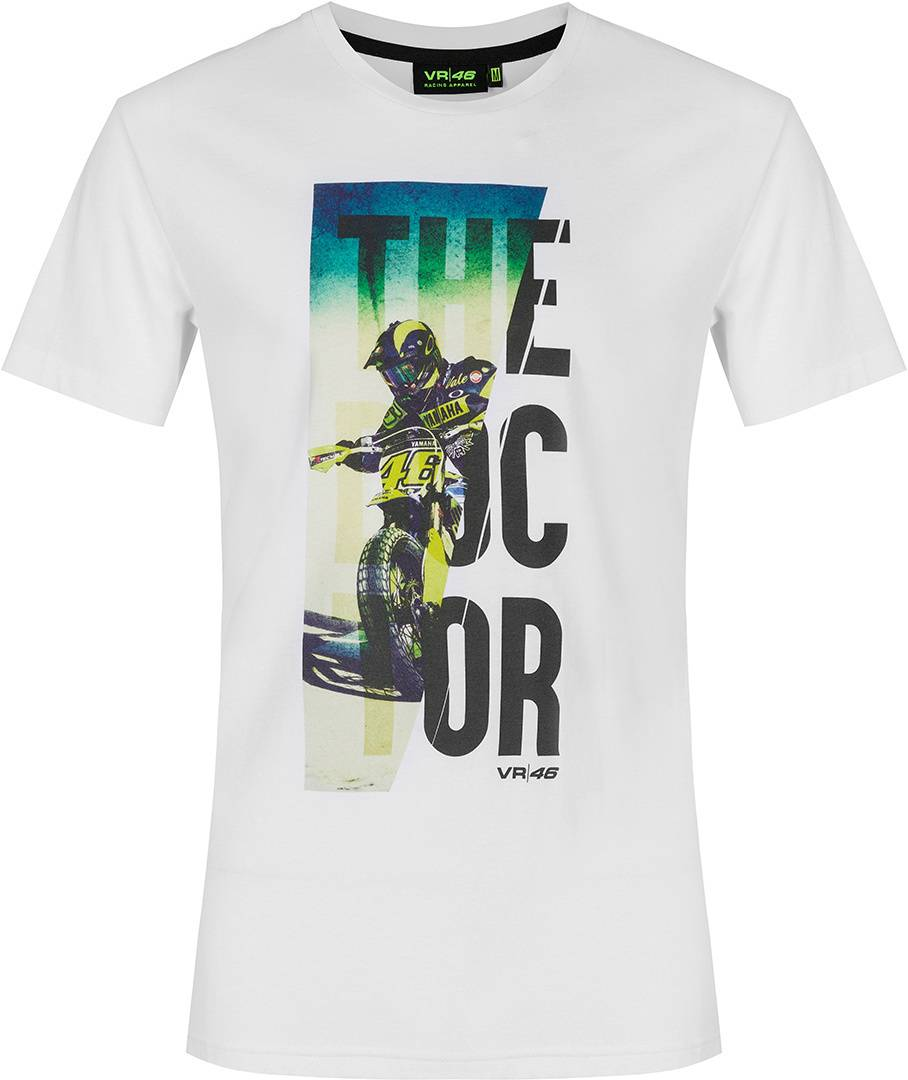 VR46 The Doctor T-Shirt Blanc taille : XS