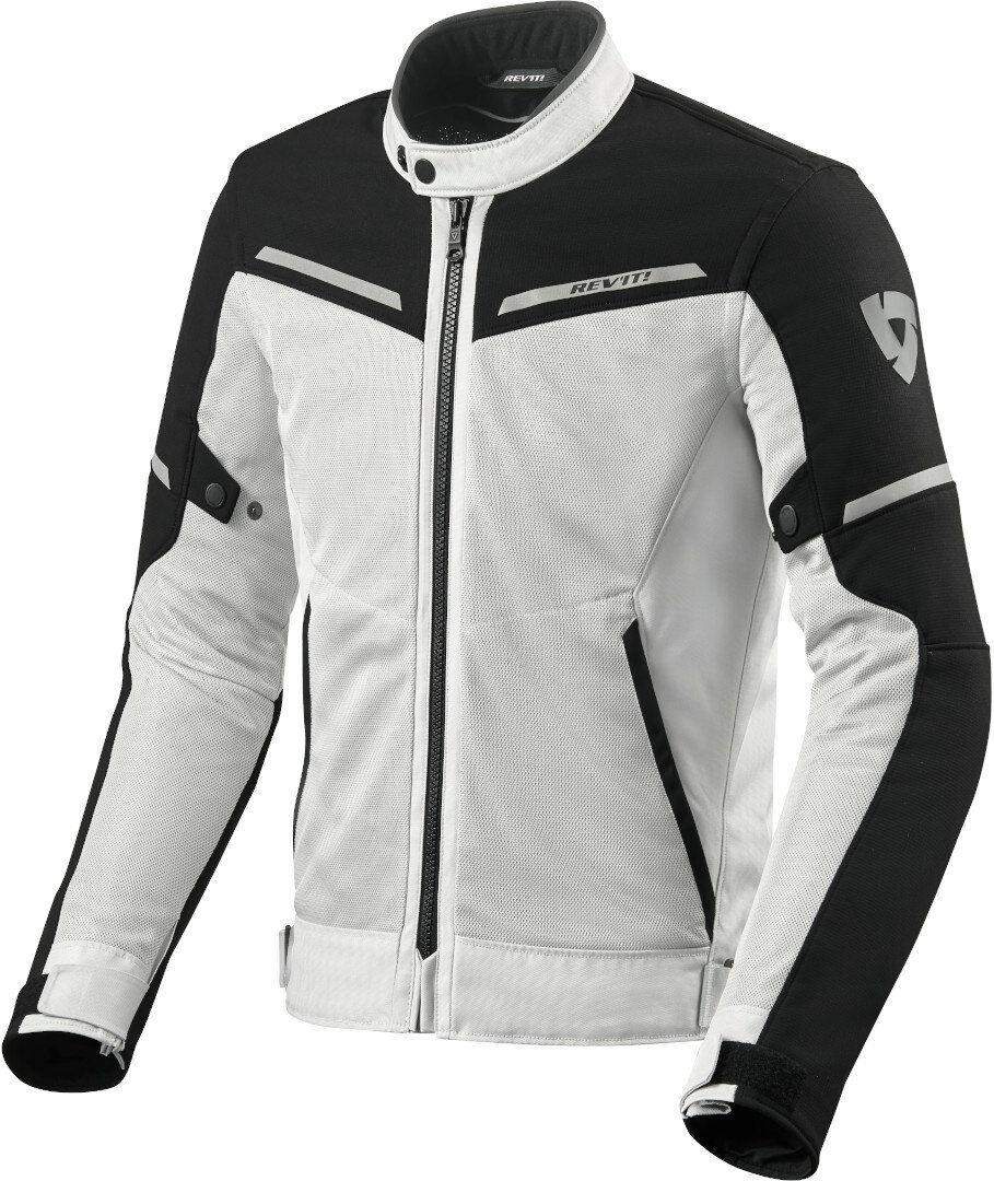 Revit Airwave 3 Veste textile de moto Noir Blanc taille : XS