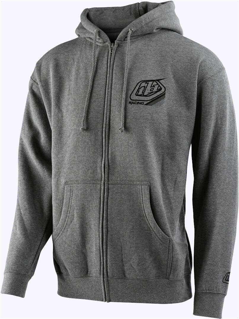 Troy Lee Designs Mix Zip Hoodie Gris taille : M