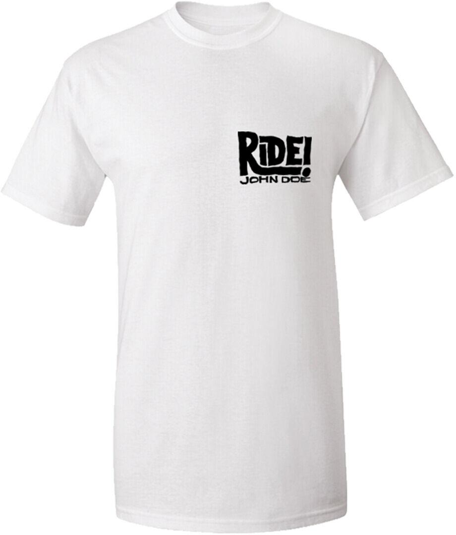 John Doe Ride T-Shirt Blanc taille : XL