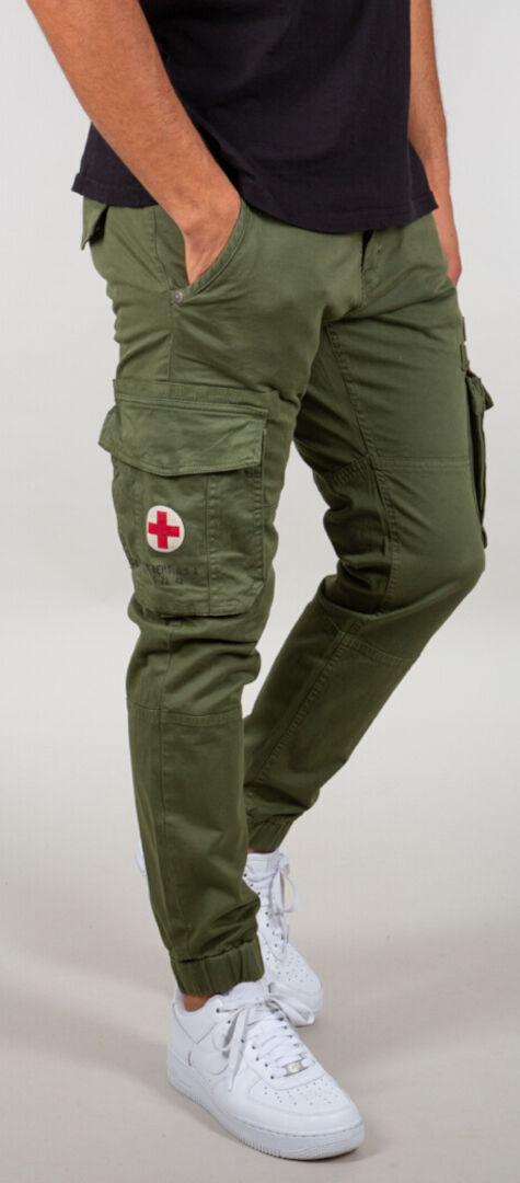 Alpha Industries Rescue Pantalon Vert taille : 29