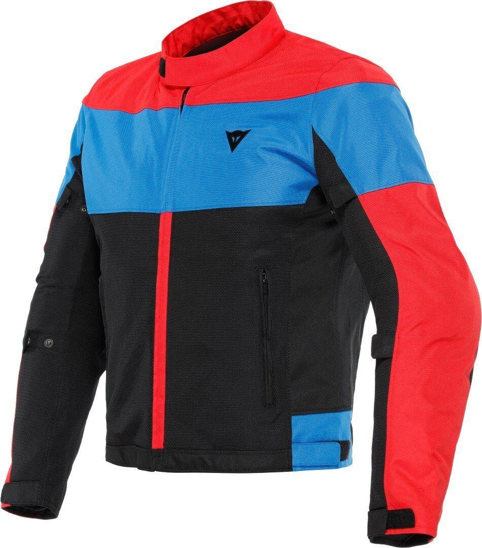 Dainese Elettrica Air Tex Veste textile moto Noir Rouge Bleu taille : 62
