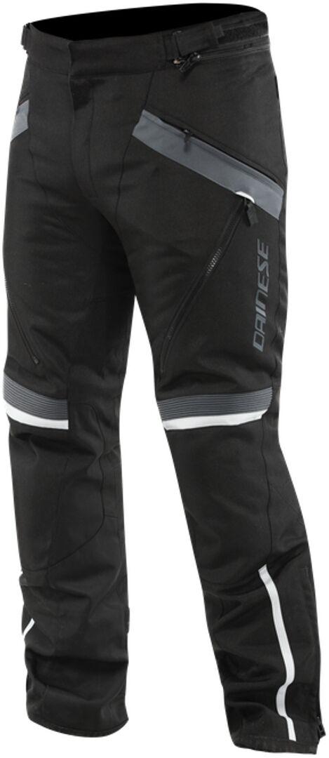 Dainese Tempest 3 D-Dry Pantalon textile de moto Noir Gris taille : 54