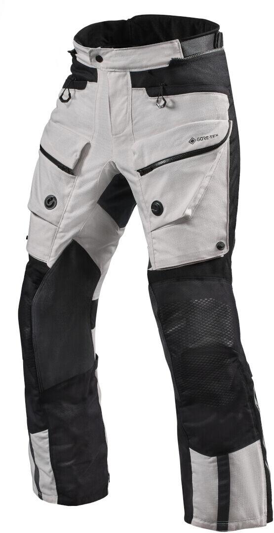 Revit Defender 3 GTX Pantalon textile moto Noir Argent taille : 2XL