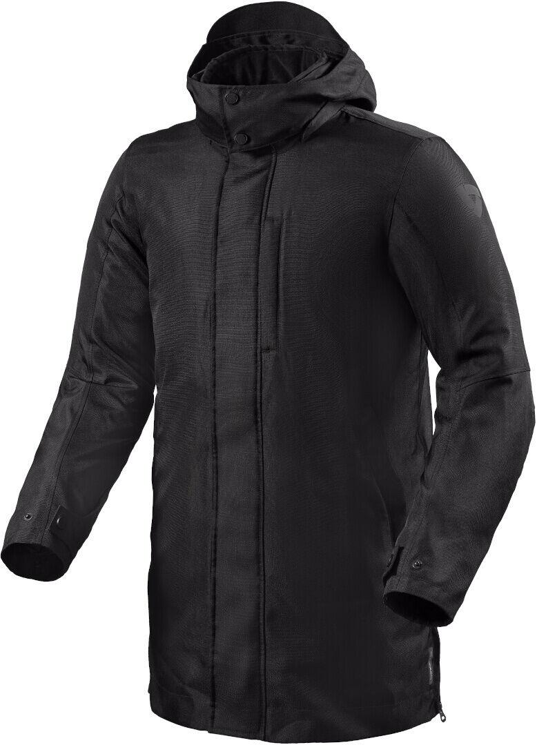 Revit Manhattan H2O Veste textile de moto Noir taille : L