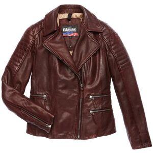 Blauer USA Icon Veste en cuir de dames Brun taille : M - Publicité