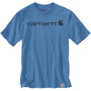 Carhartt EMEA Core Logo Workwear Short Sleeve T-Shirt T-Shirt Bleu taille : 2XL - Publicité
