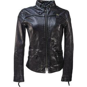 Blauer USA Sarena Veste en cuir dames Noir taille : XL - Publicité