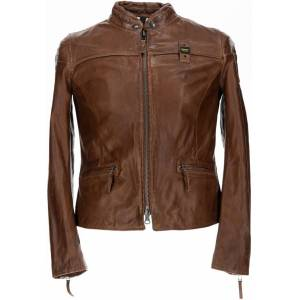 Blauer USA Sarena Veste en cuir dames Brun taille : M - Publicité
