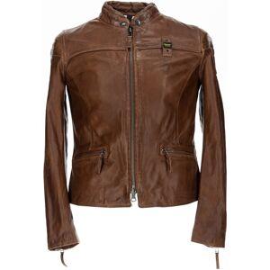 Blauer USA Sarena Veste en cuir dames Brun taille : L - Publicité