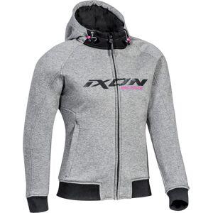 Ixon Palermo Veste textile de moto dames Gris taille : L - Publicité