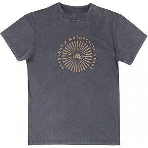 Helstons Sun T-Shirt Noir taille : S - Publicité
