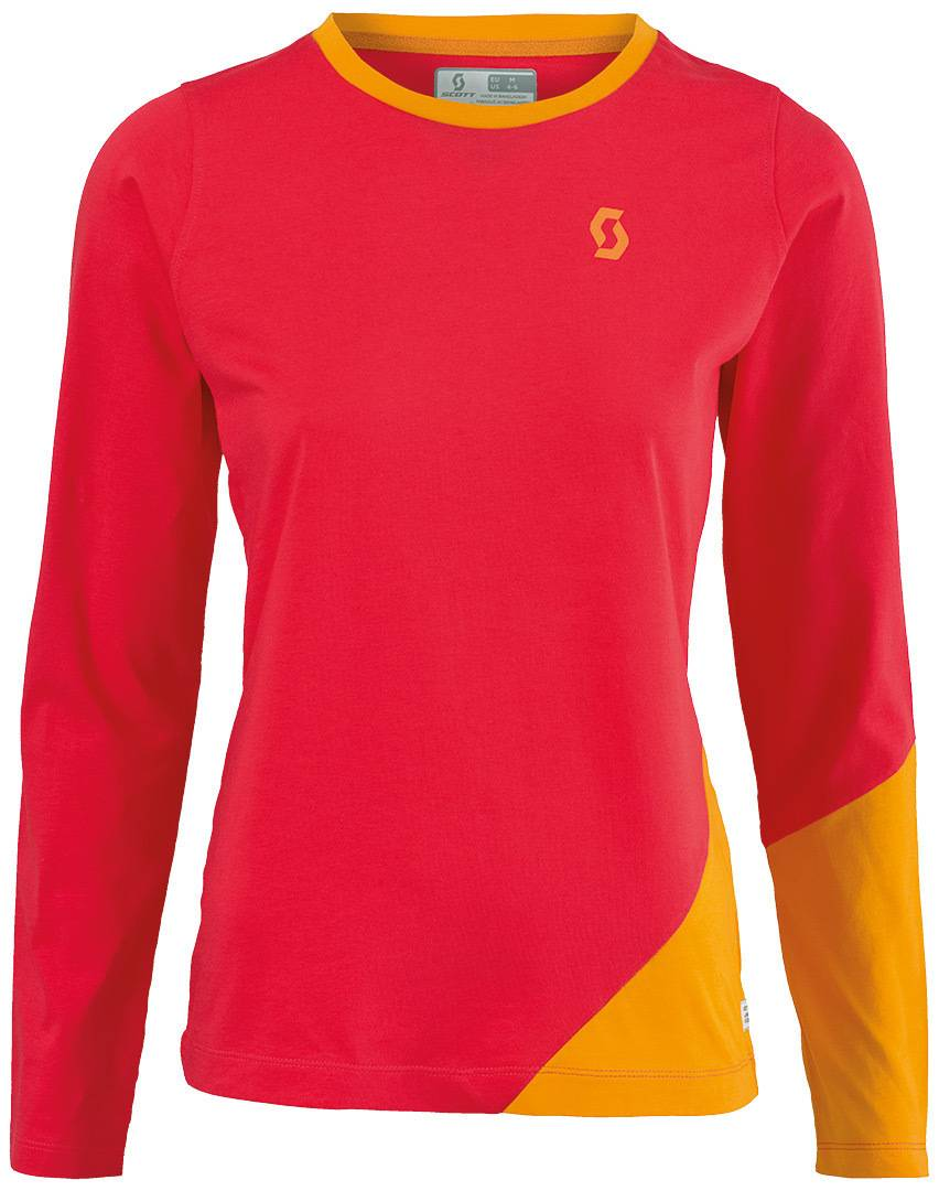 Scott 50 Casual Women Rouge Jaune taille : S