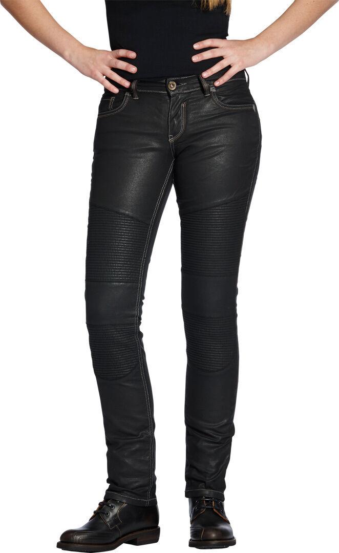 Rokker The Diva Biker Style Pantalon dames Noir taille : 3XL