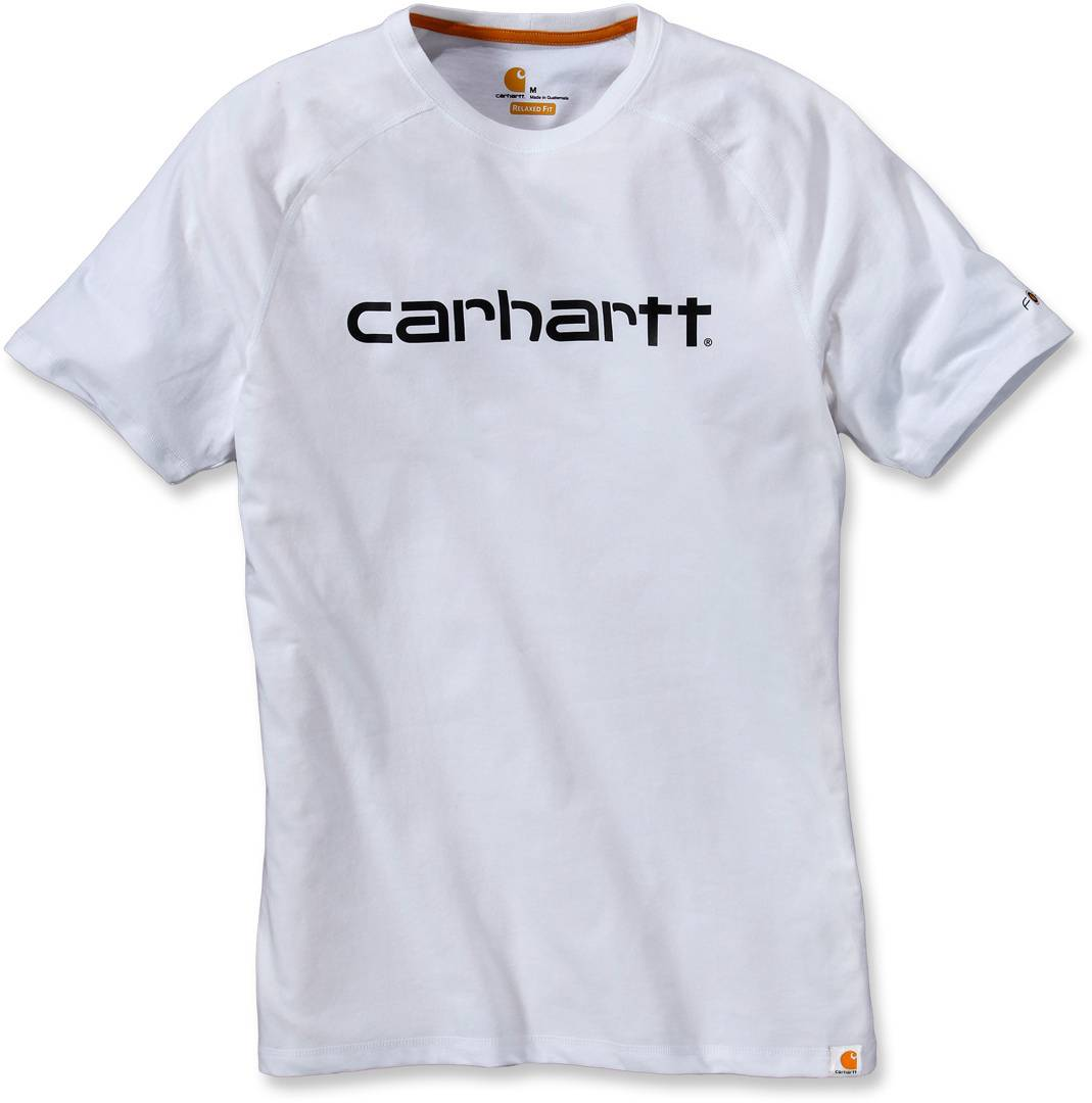 Carhartt Force Cotton Delmont Graphic T-Shirt Blanc taille : 2XL