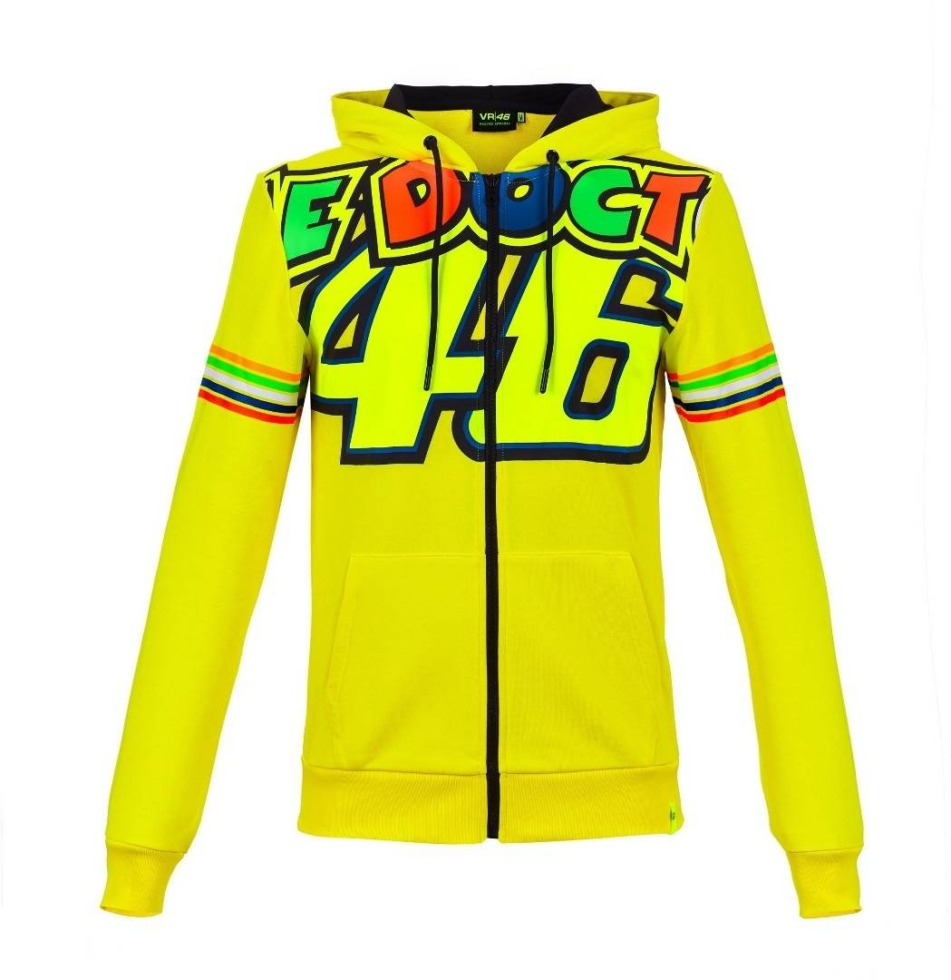 VR46 The Doctor 46 Sweat à capuche Jaune taille : XS