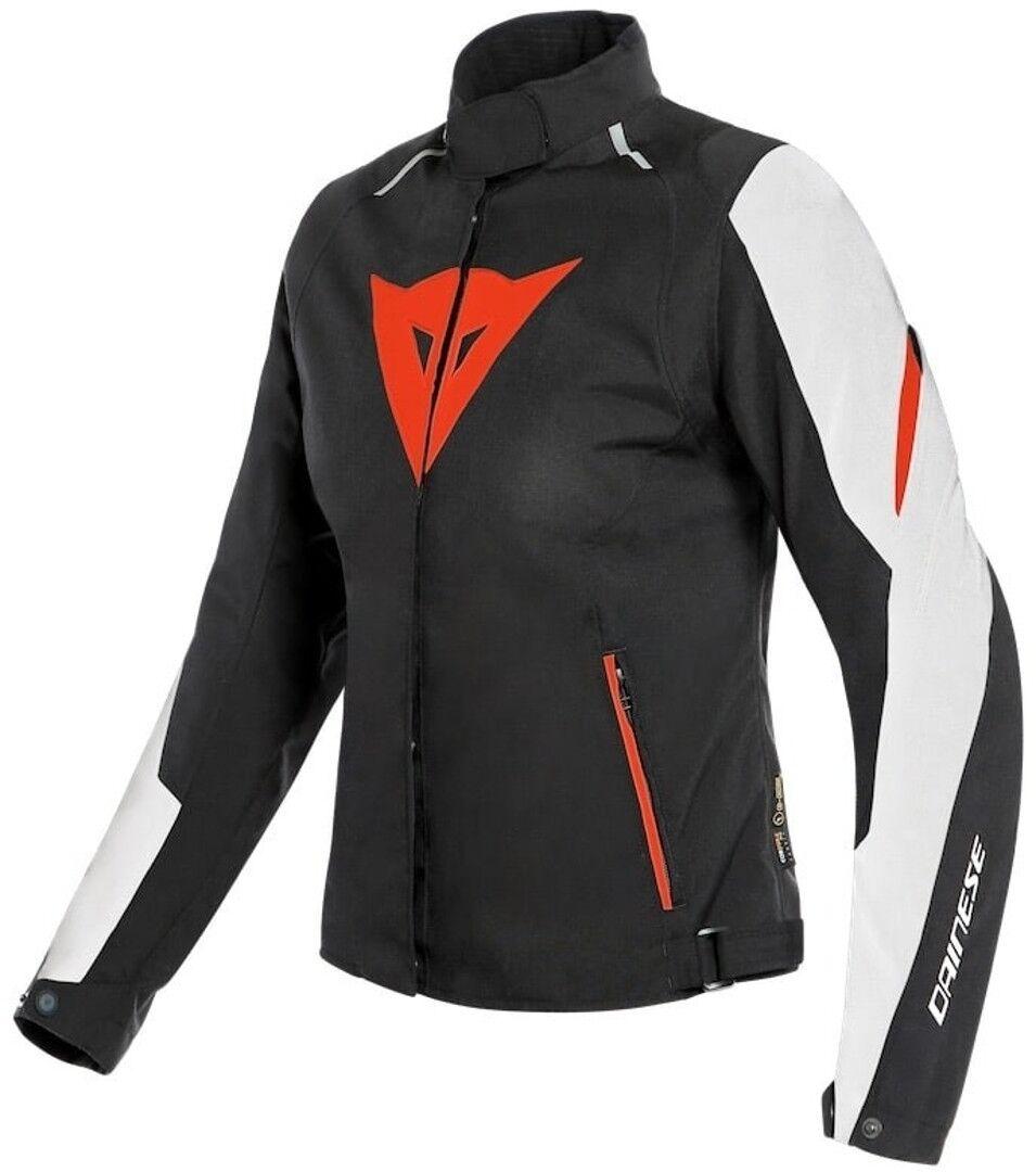 Dainese Laguna Seca 3 D-Dry Veste de dames moto Textile Noir Blanc Rouge taille : 44