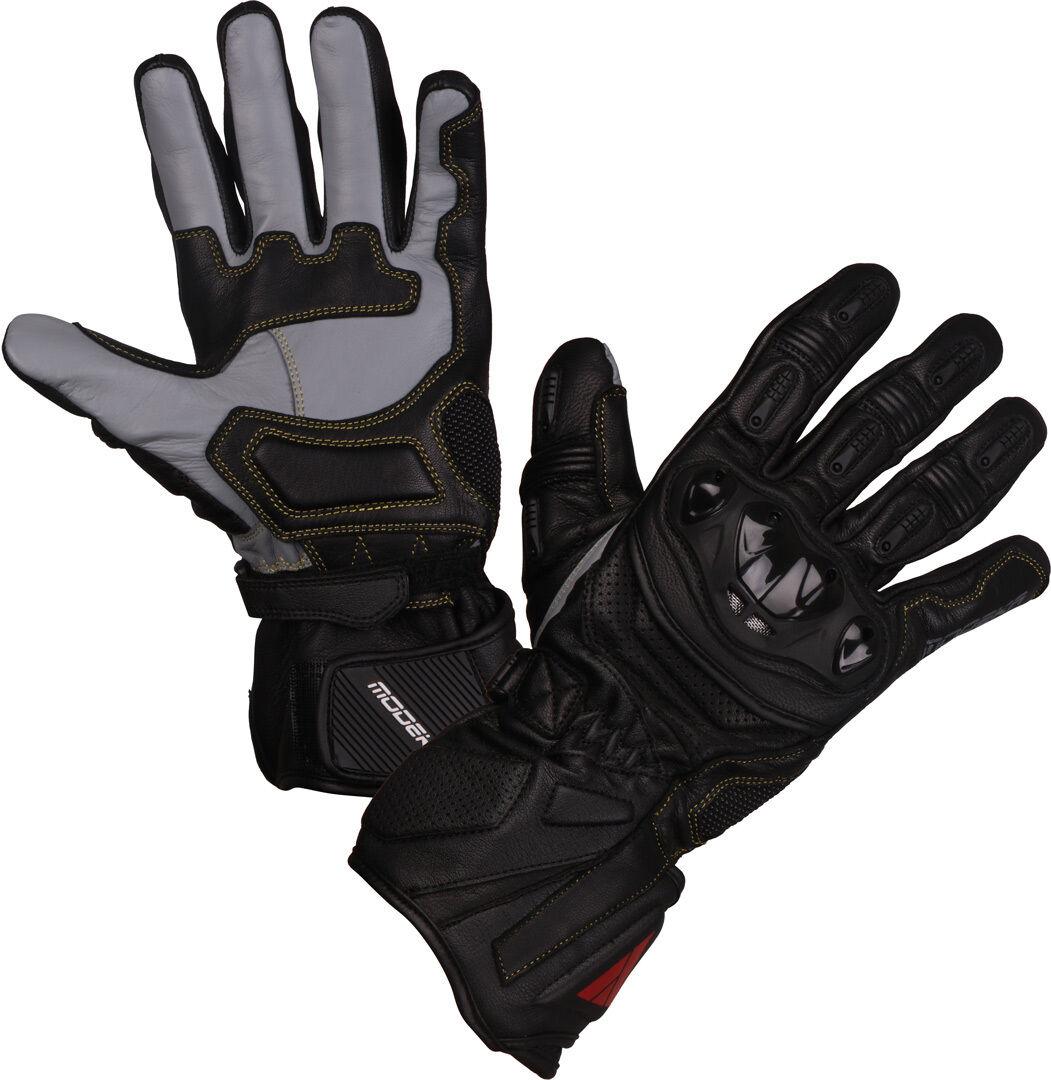 Modeka Cay Mesdames les gants de moto Noir taille : XL