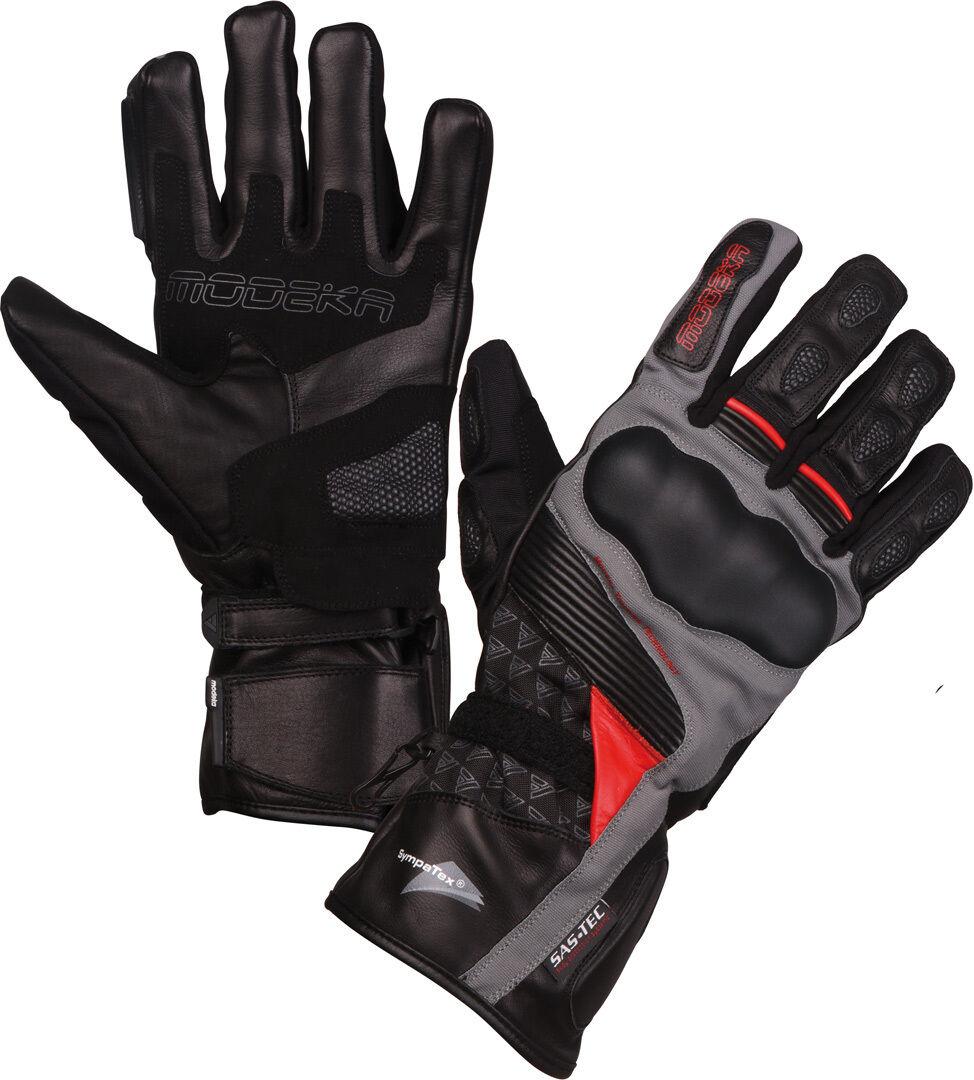 Modeka Panamericana Mesdames les gants de moto Noir Rouge taille : M
