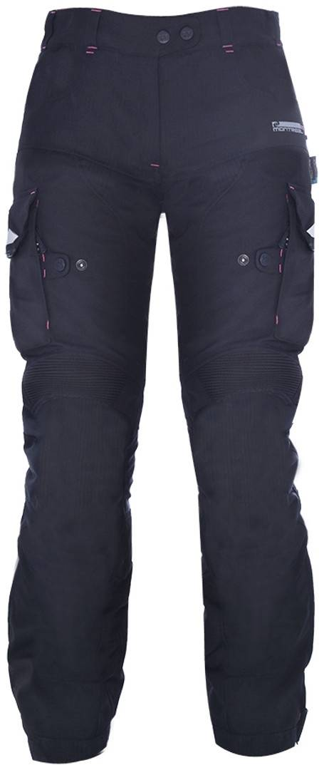 Oxford Montreal 2.0 Pantalon textile de moto dames Noir taille : XL