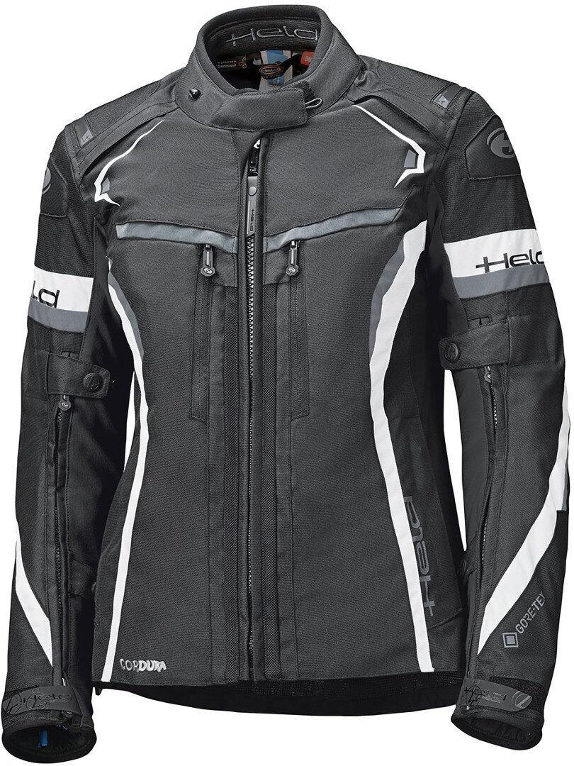 Held Imola ST Veste textile de moto de dames Noir Blanc taille : M