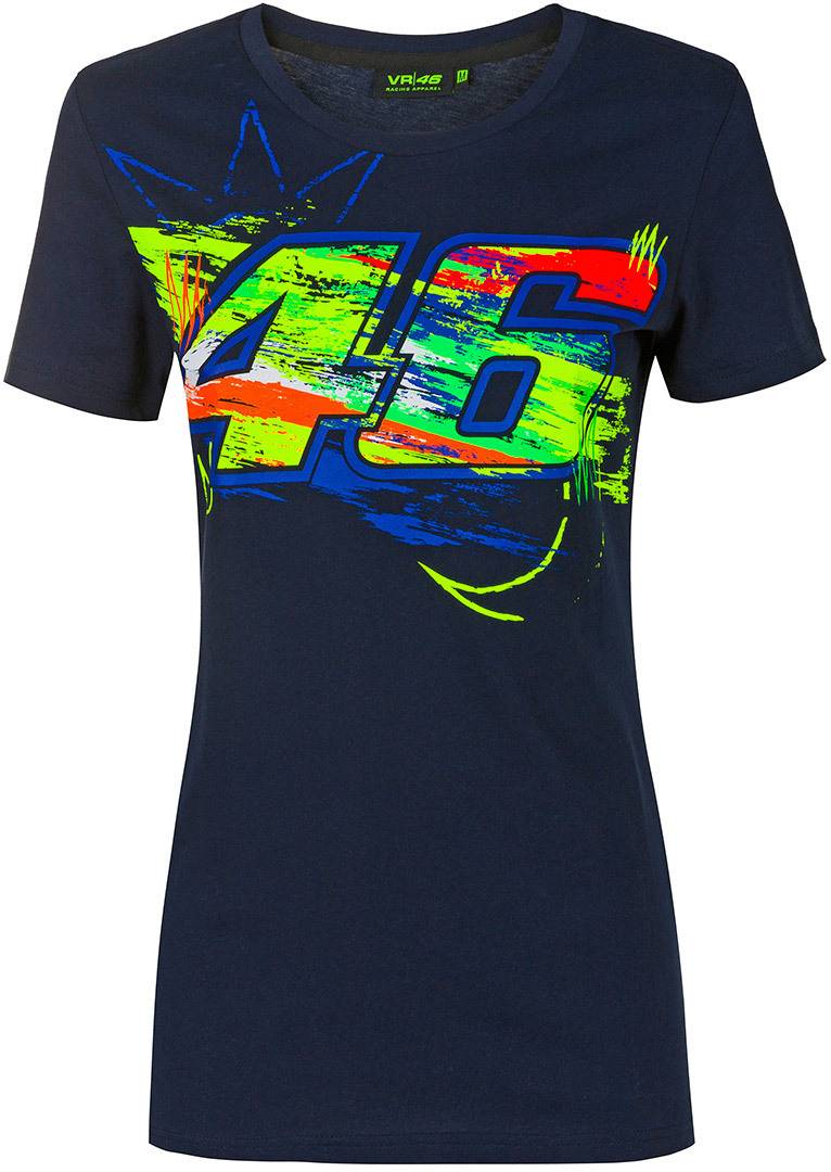 VR46 Winter Test T-shirt Dames Bleu taille : S