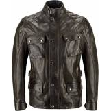 Belstaff Turner Veste de moto en cuir Noir M