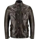 Belstaff Turner Veste de moto en cuir Noir L