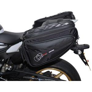 Oxford P50R Sac de selle de moto Noir taille : 41-50l - Publicité