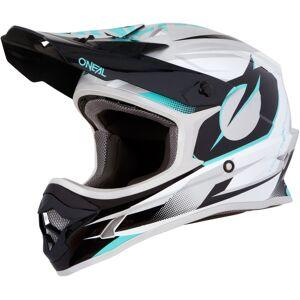 Oneal 3Series Riff Casque de motocross Turquoise taille : XL - Publicité