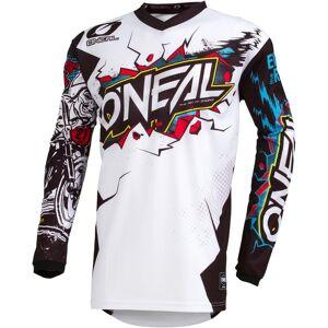 Oneal Element Villain Maillot de motocross Blanc taille : XL - Publicité