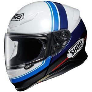 Shoei NXR Philosopher casque Noir Blanc Bleu taille : 2XL - Publicité