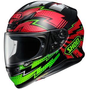 Shoei NXR Variable casque Noir Rouge Vert taille : L - Publicité