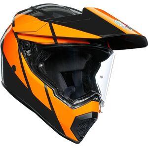 AGV AX-9 Trail casque Gris Orange taille : XS - Publicité