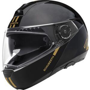 Schuberth C4 Pro Fusion Gold Limited Edition Carbon casque Noir Or taille : S - Publicité