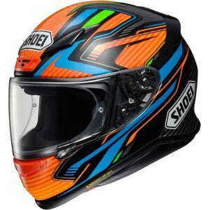 Shoei NXR Stab casque Noir Orange taille : M - Publicité