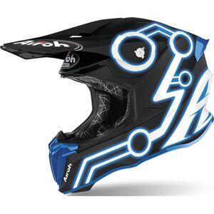 Airoh Twist 2.0 Neon Casque Motocross Bleu taille : XS - Publicité