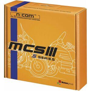 Nolan N-Com MCS III S Système de communication Unique Pack Noir taille : unique taille - Publicité