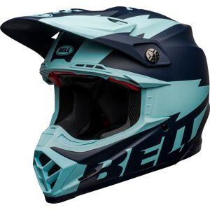 Bell Moto-9 Flex Breakaway Casque de motocross Bleu taille : S - Publicité