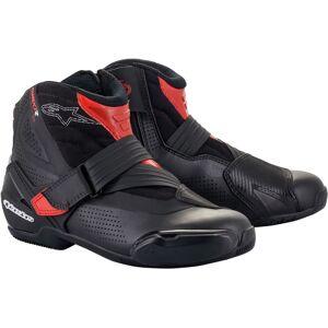 Alpinestars SM-1 R V2 Vented Chaussures de moto Noir Rouge taille : 39 - Publicité