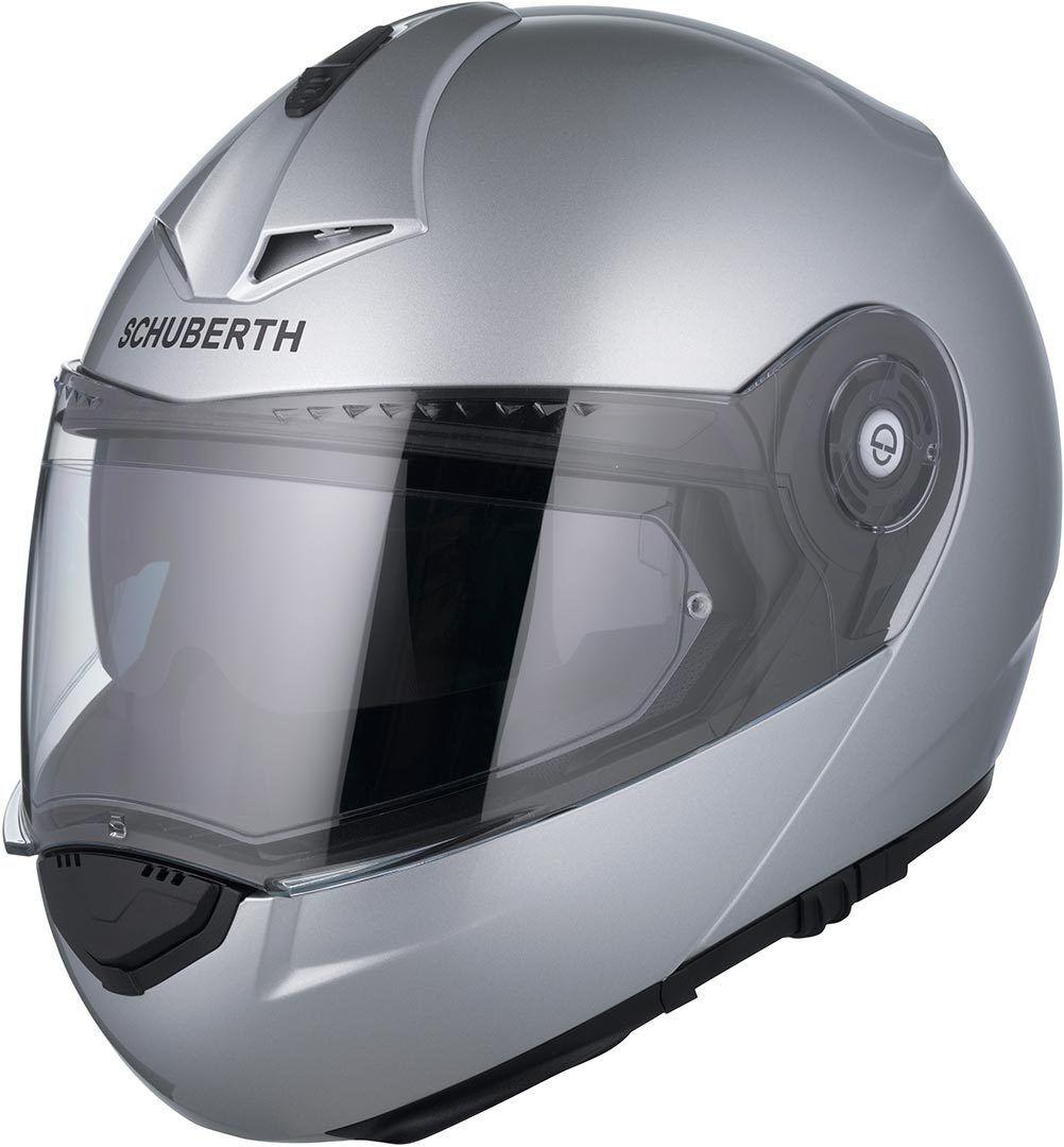 Schuberth C3 Pro Casque Silver Argent M