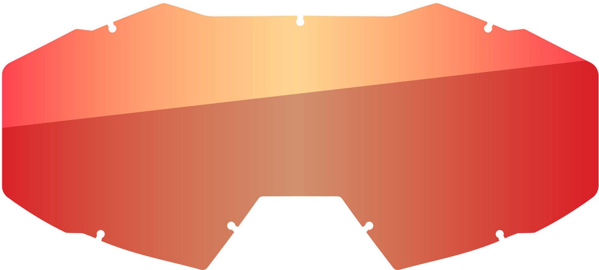 Klim Viper Lentille de remplacement Rouge unique taille