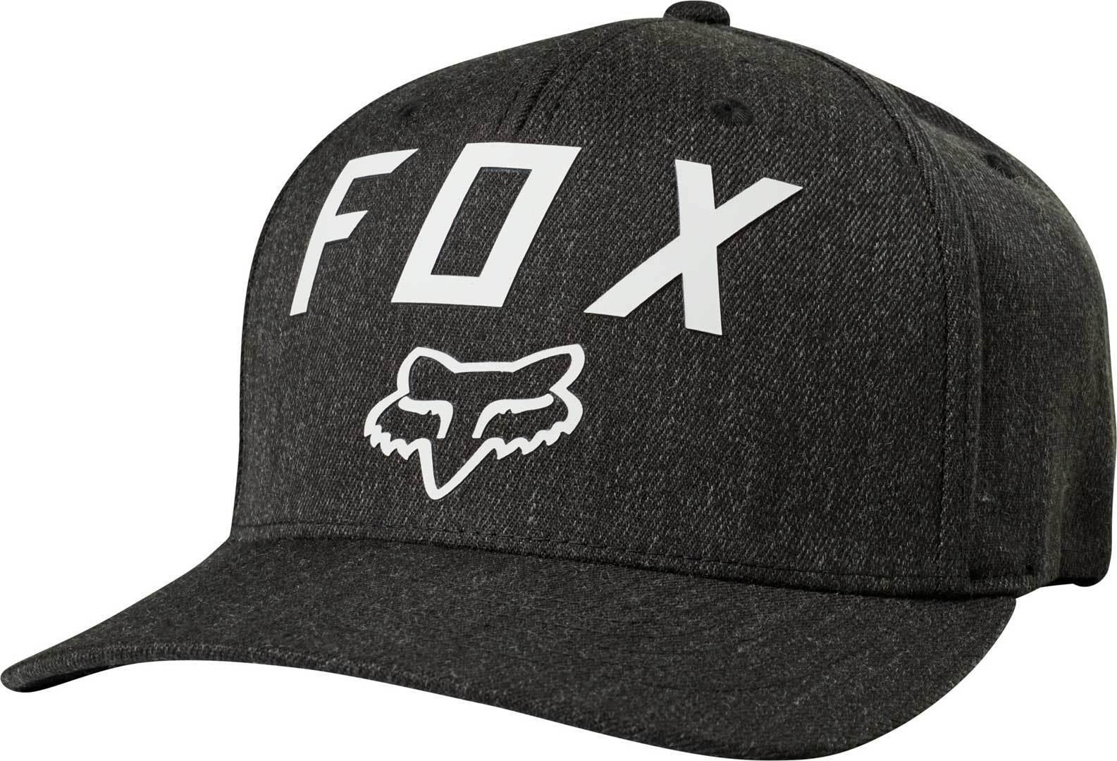 FOX Number 2 Flexfit Chapeau Noir Gris L XL