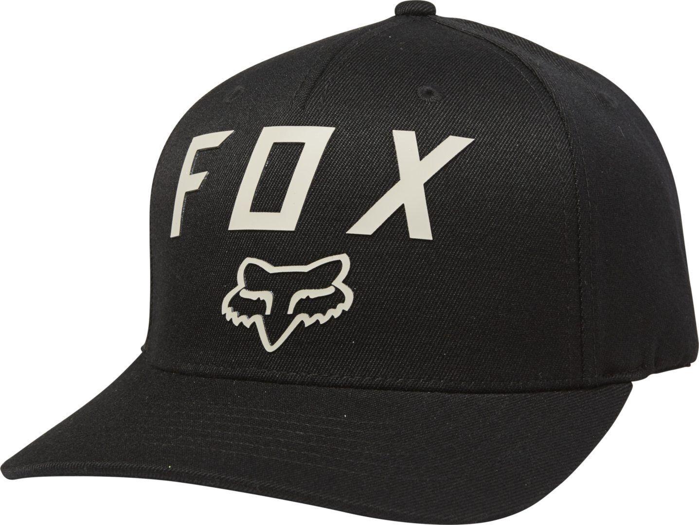 FOX Number 2 Flexfit Chapeau Noir Vert S M